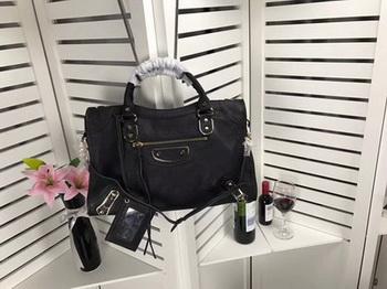 Balenciaga Giant City Gold Studs Handbag B084334 Black