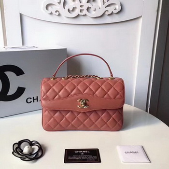 Chanel Classic Shoulder Bag Original Sheepskin Leather A57028 Pink