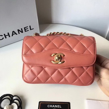 Chanel Classic Shoulder Bag Original Sheepskin Leather A57029 Pink