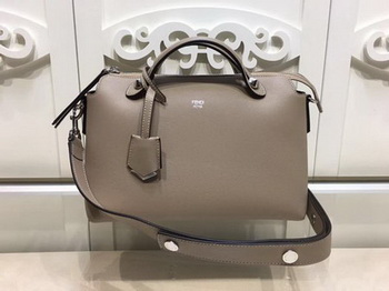 Fendi BY THE WAY Bag Original Calfskin Leather F21790 Grey