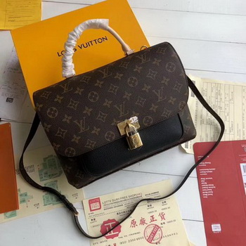 Louis Vuitton Monogram Canvas MARIGNAN M44259 Black