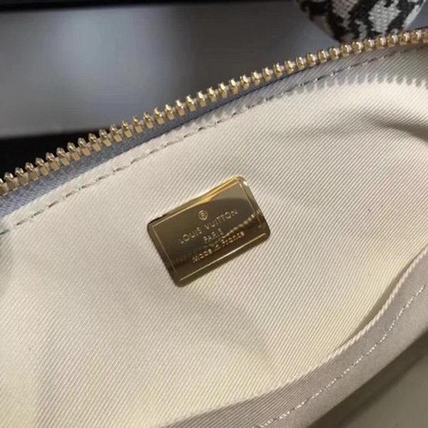 Louis Vuitton Monogram Vernis Alma BB Tote Bag M91606 Silver