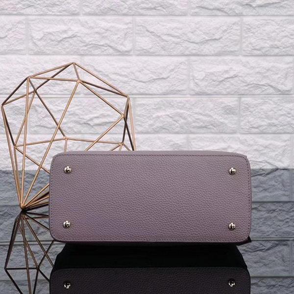 Prada Bibliotheque Medium Saffiano Top-Handle Tote Bag BN0902 Purple