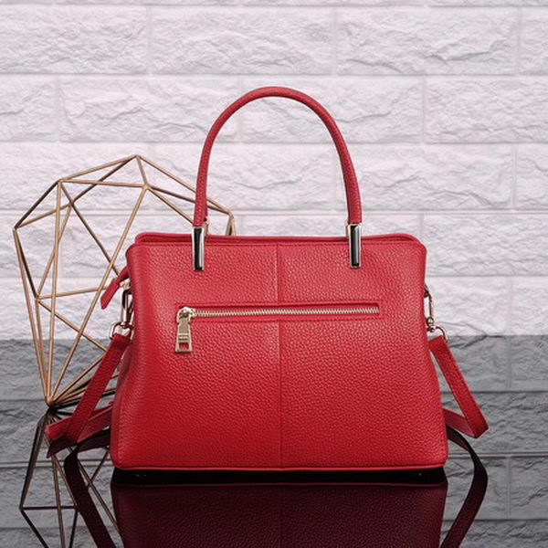Prada Bibliotheque Medium Saffiano Top-Handle Tote Bag BN0902 Red