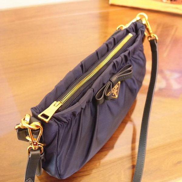 Prada Nylon Shoulder Bag BN2043 Blue