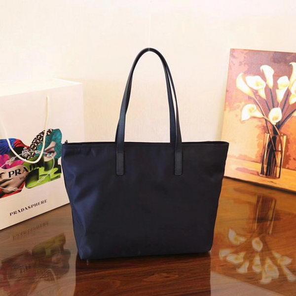 Prada Nylon Tote Bag 1BG052 Royal