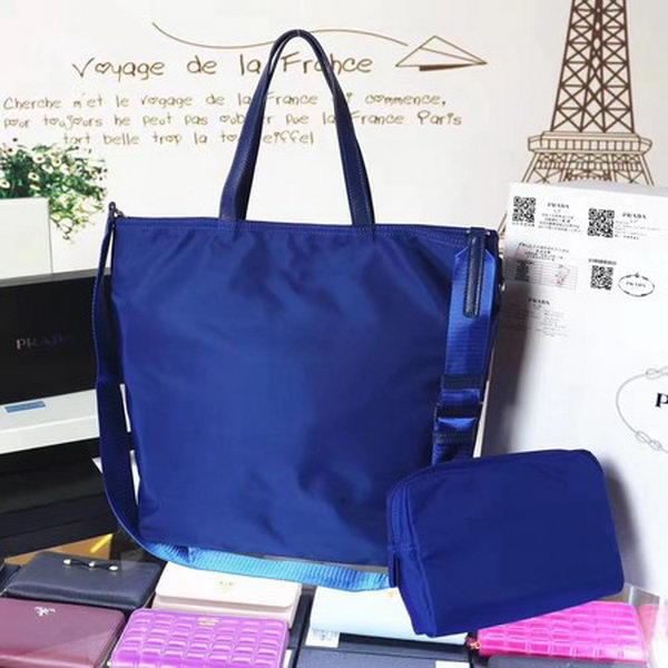 Prada Nylon Tote Bag BN2834 Blue