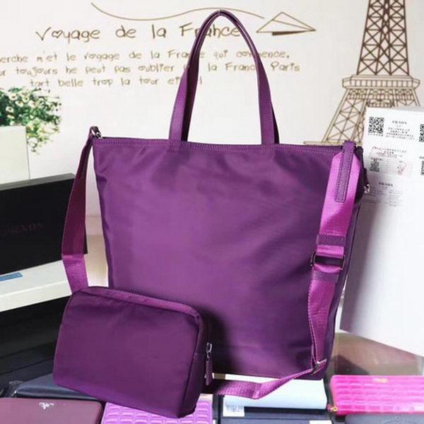 Prada Nylon Tote Bag BN2834 Purple