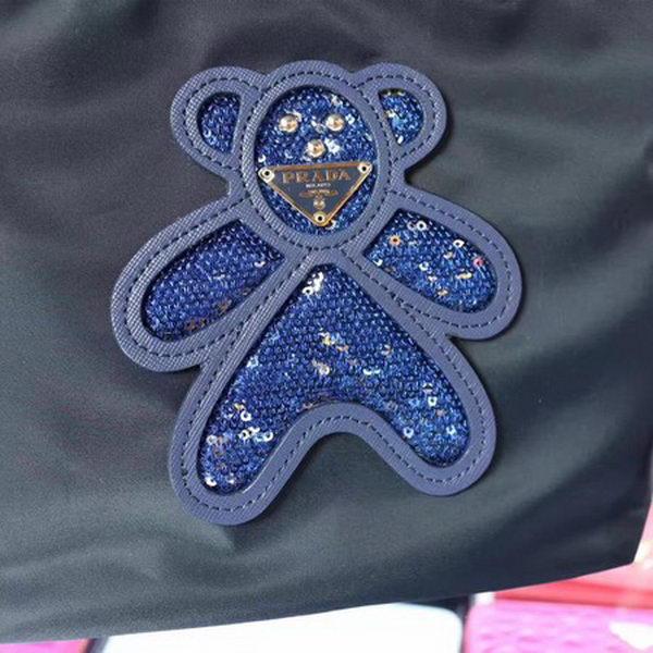 Prada Nylon Tote Bag BN2835 Blue