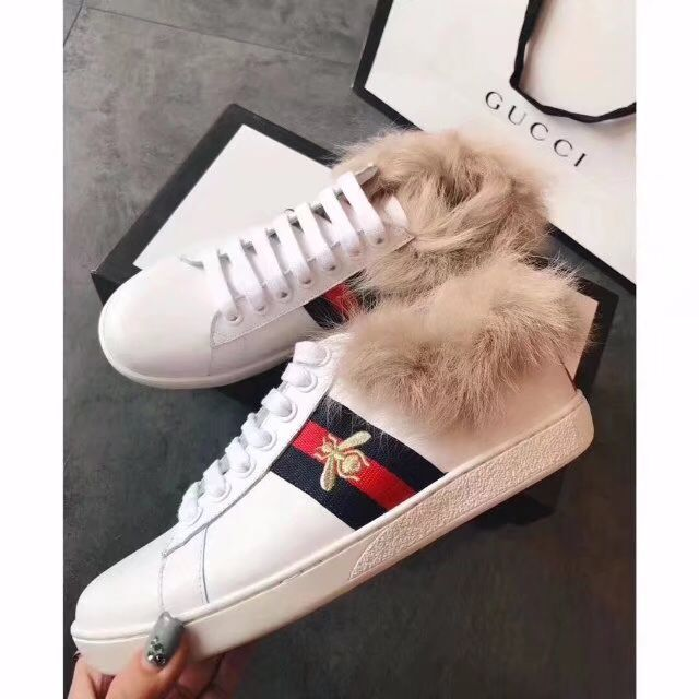 Gucci Shoes GG18208 Bee White