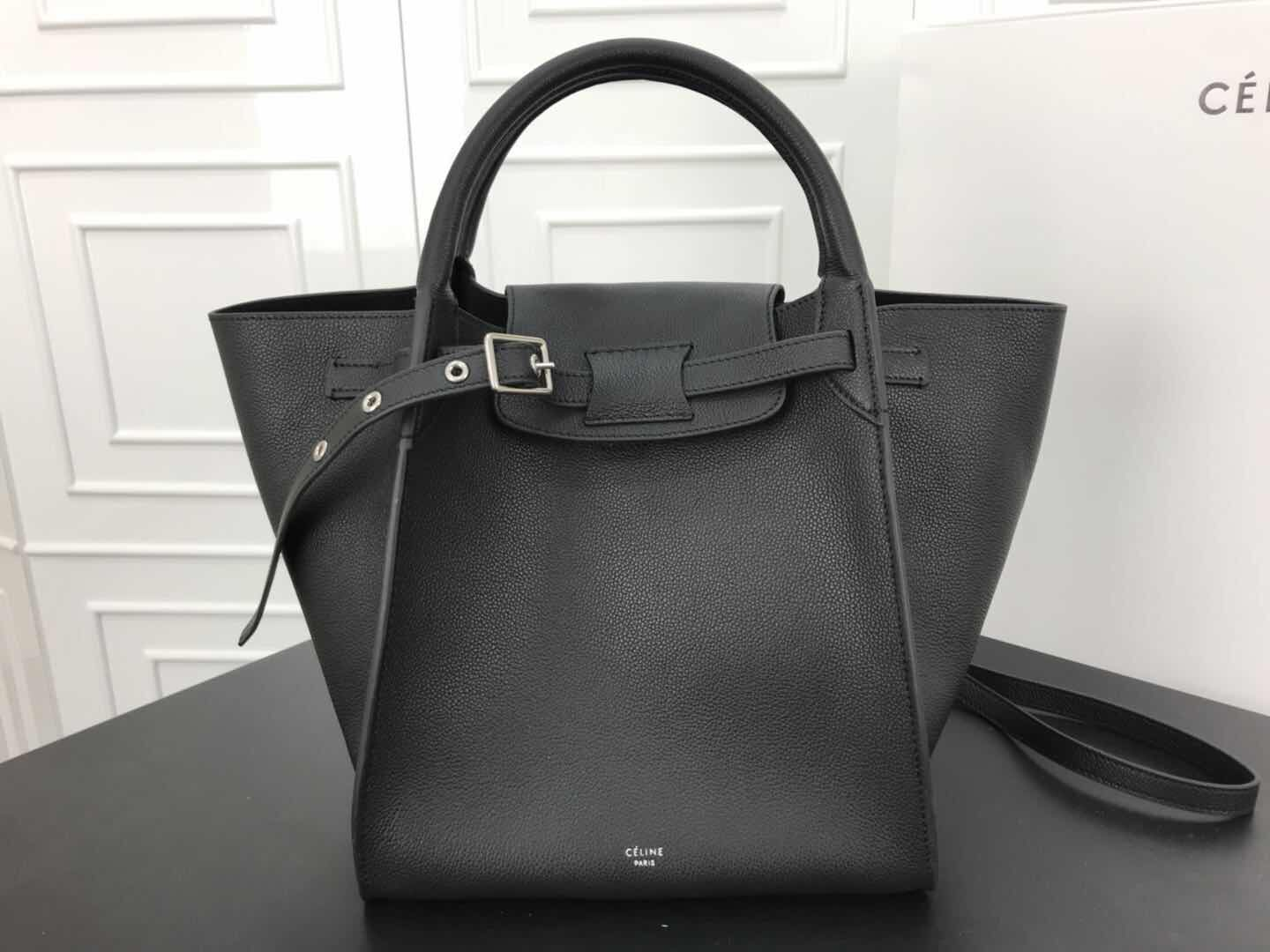 Celine Belt Bag Original Skin Leather CL18221 Black