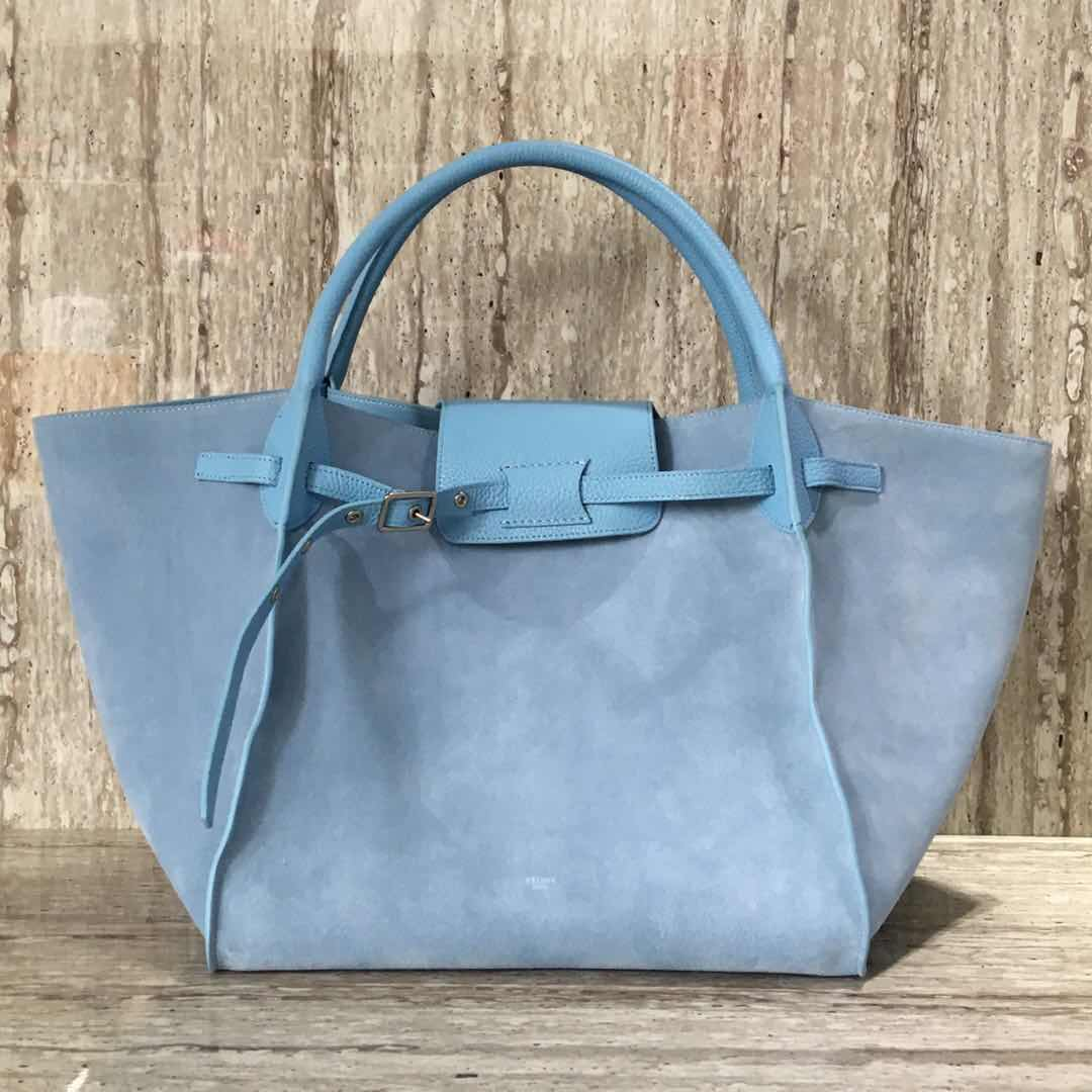 Celine Belt Bag Original Skin Leather CL18221 blue