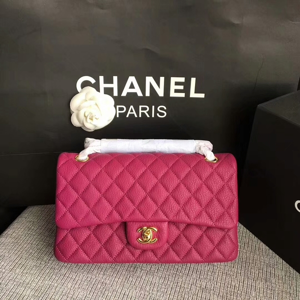 Chanel Flap Shoulder Bags Original Deerskin Leather CF1112 Pink