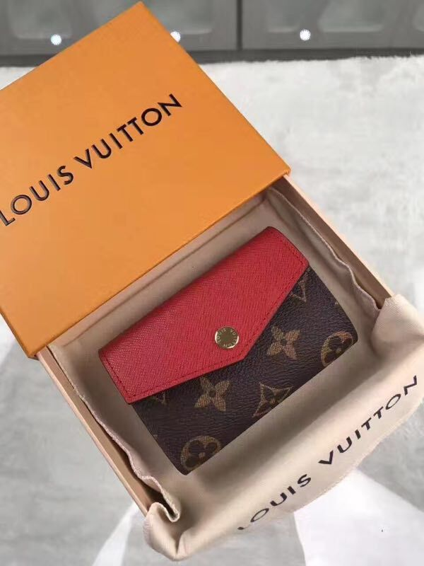 Louis Vuitton Monogram Canvas M61273 red