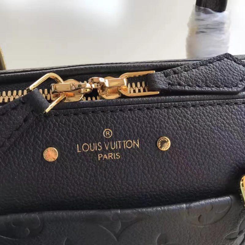 Louis Vuitton Original Monogram Empreinte SPEEDY 25 42405 black
