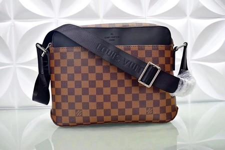 Louis Vuitton Damier Ebene Canvas Shoulder Bag N41569