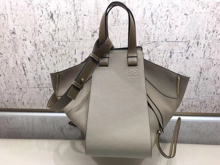 Loewe Hammock Calfskin Leather Tote Bag A9128 Khaki