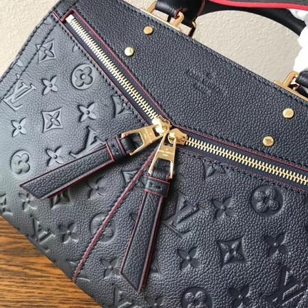 Louis Vuitton Monogram Empreinte Original Leather Tote Bag M54195 Blue