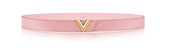 Louis Vuitton 30mm Leather Belt M9310 pink
