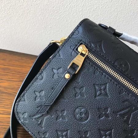 Louis Vuitton Monogram Empreinte Tote Bag M41486 Black