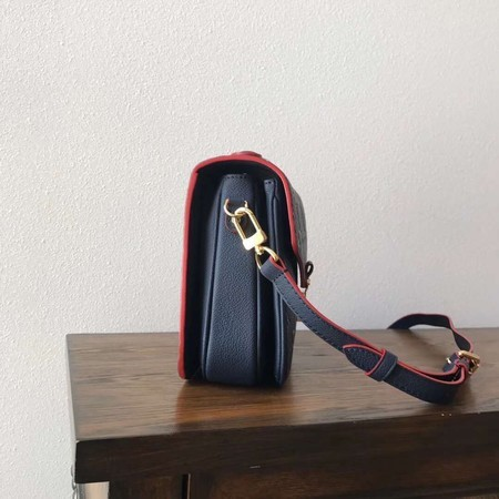 Louis Vuitton Monogram Empreinte Tote Bag M41486 Blue&Red