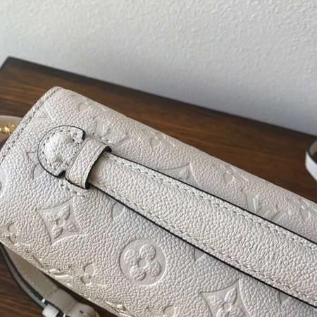 Louis Vuitton Monogram Empreinte Tote Bag M41486 White