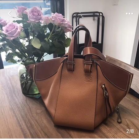 Loewe Hammock Small Bag Original Leather A9127 Brown
