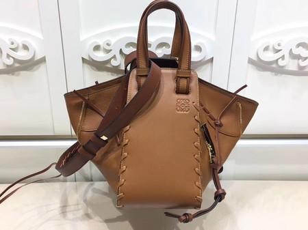 Loewe Hammock Small Bag Original Leather L9127 Brown