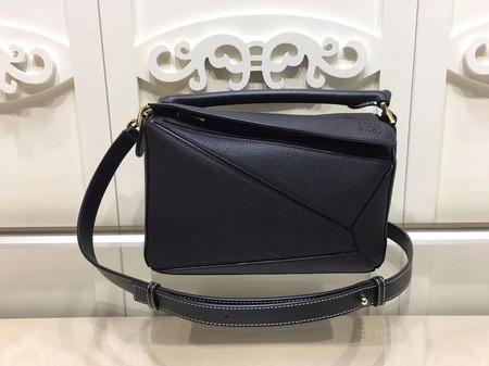 Loewe Puzzle Bag Original Leather L9122 Black