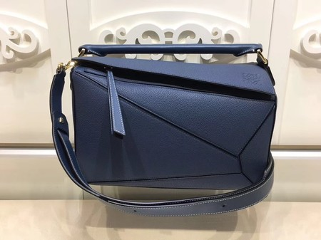 Loewe Puzzle Bag Original Leather L9122 Blue