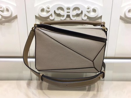 Loewe Puzzle Bag Original Leather L9122 Light Grey