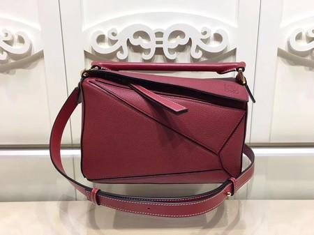 Loewe Puzzle Bag Original Leather L9122 Red