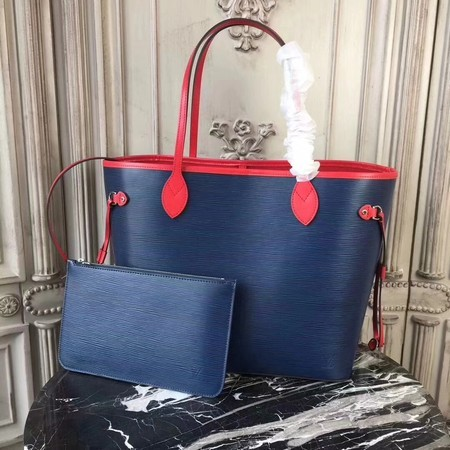 Louis Vuitton EPI Leather Tote Bag 54185 Blue&Red
