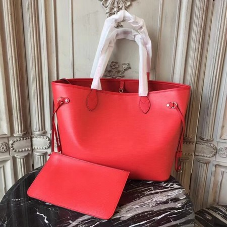 Louis Vuitton EPI Leather Tote Bag 54185 Red