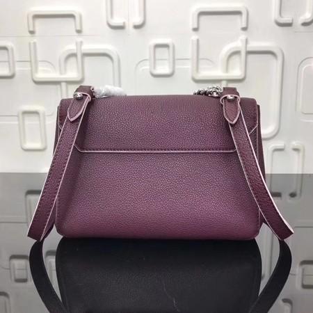 Louis Vuitton Original EPI Leather LOCKME BB Bag M50250 Wine