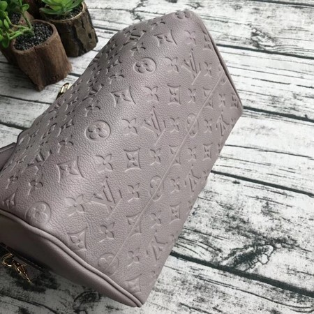Louis Vuitton Original Monogram Empreinte Speedy 42401 Grey