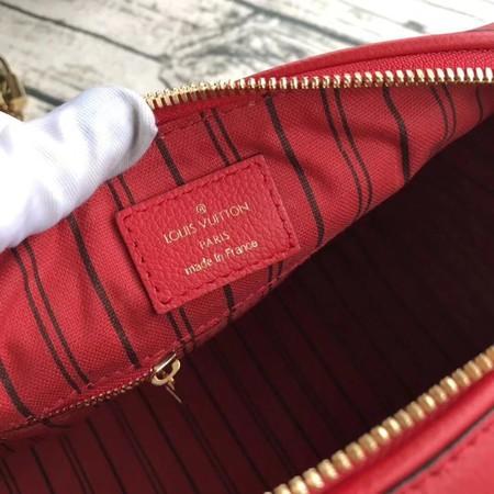 Louis Vuitton Original Monogram Empreinte Speedy 42401 Red