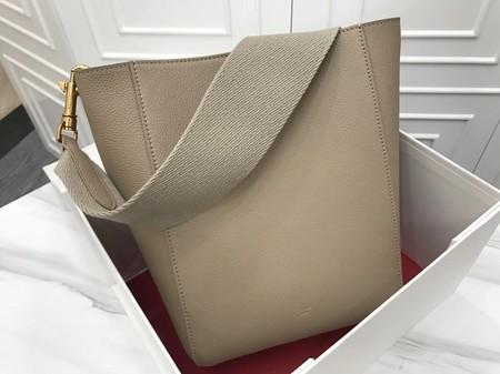 Celine Cabas Phantom Bags Original Calfskin Leather 3370 Grey