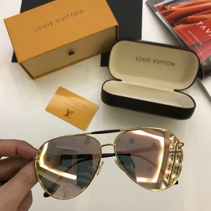 Louis Vuitton Newest Fashion sunglasses top quality LV0017
