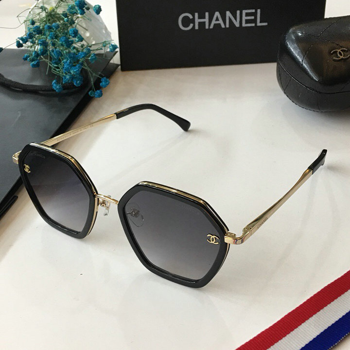 Chanel Newest Fashion Sunglasses Top Quality CC0123