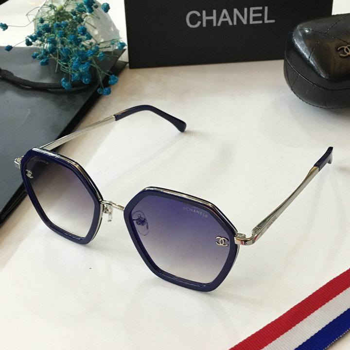 Chanel Newest Fashion Sunglasses Top Quality CC0122