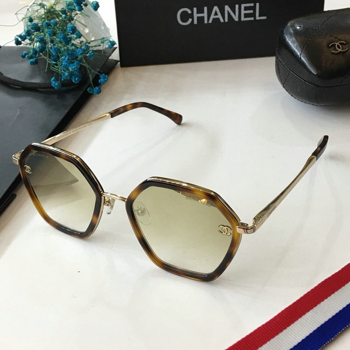 Chanel Newest Fashion Sunglasses Top Quality CC0124