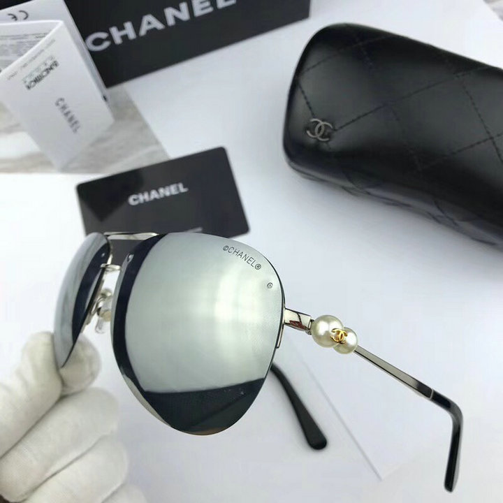 Chanel Newest Fashion Sunglasses Top Quality CC0125