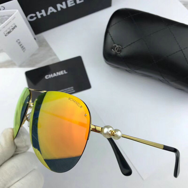 Chanel Newest Fashion Sunglasses Top Quality CC0126