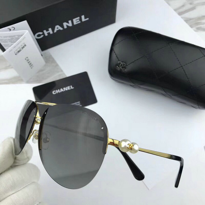 Chanel Newest Fashion Sunglasses Top Quality CC0127