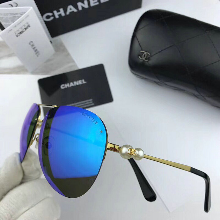 Chanel Newest Fashion Sunglasses Top Quality CC0128