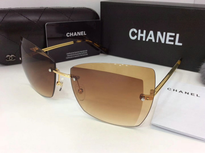 Chanel Newest Fashion Sunglasses Top Quality CC0129