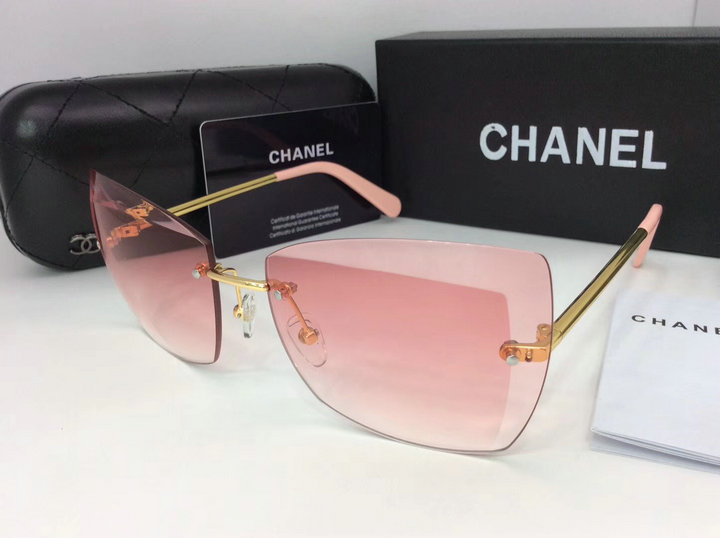 Chanel Newest Fashion Sunglasses Top Quality CC0132