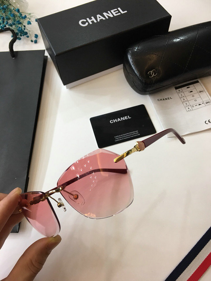 Chanel Newest Fashion sunglasses top quality CC0012