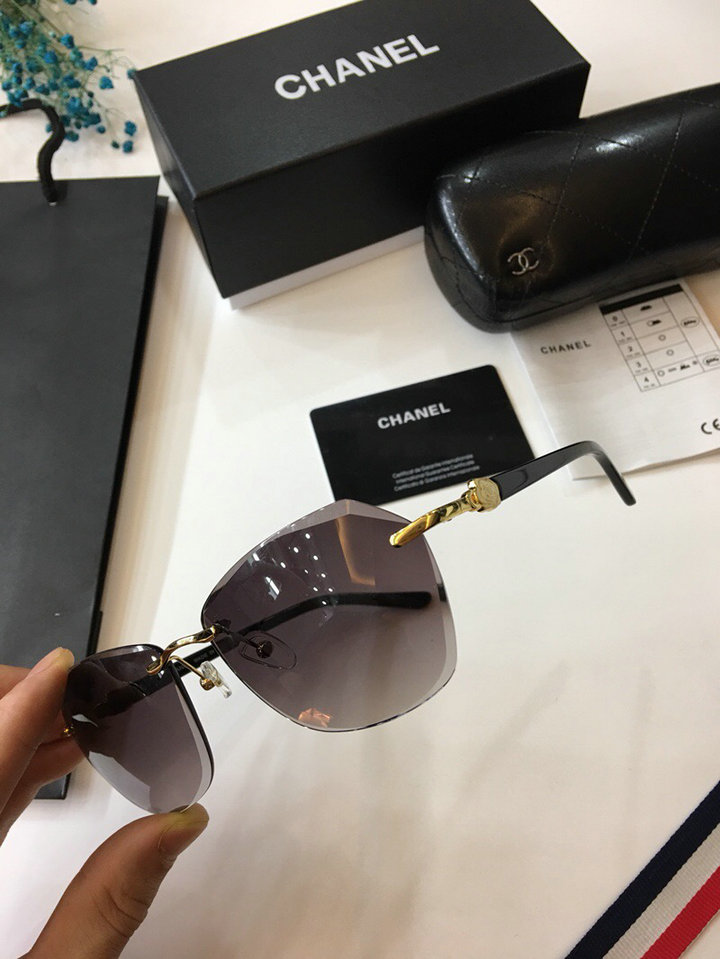 Chanel Newest Fashion sunglasses top quality CC0015